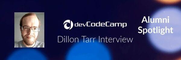 devCodeCamp Alumni Dillon Tarr Interview
