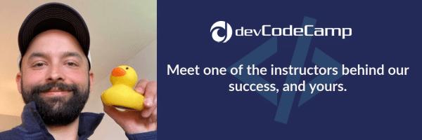 devCodeCamp Instructor JJ