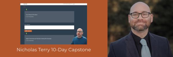 devCodeCamp Alumni Nicholas Terry Capstone